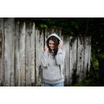 Bárki Bárhol - Női pulóver ( Light Grey)