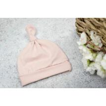 Csomós sapka - rózsaszín