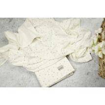 Muszlin takaró (szimpla) - krém - 2db