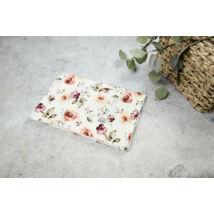 Muszlin takaró (dupla) - Kerti rózsa