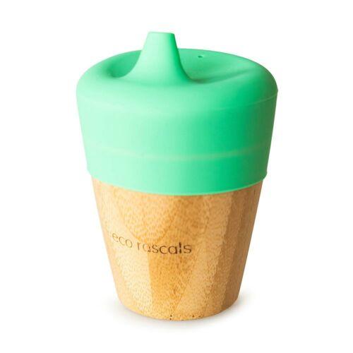 Bambusz csőrös pohár 190 ml - zöld