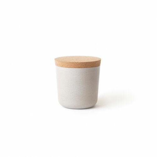 Bambusz kicsi tároló - kő szürke