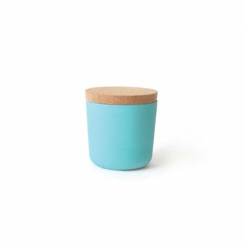 Bambusz kicsi tároló - lagúna kék