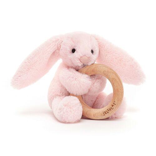 Lenyűgöző Nyuszi -fa gyűrüs játék rózsaszín