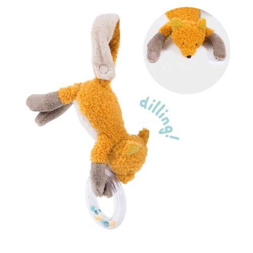 Chaussette, a kicsi róka - csörgős plüss
