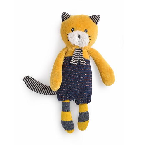 Lulu, a sárga cica - plüss játék