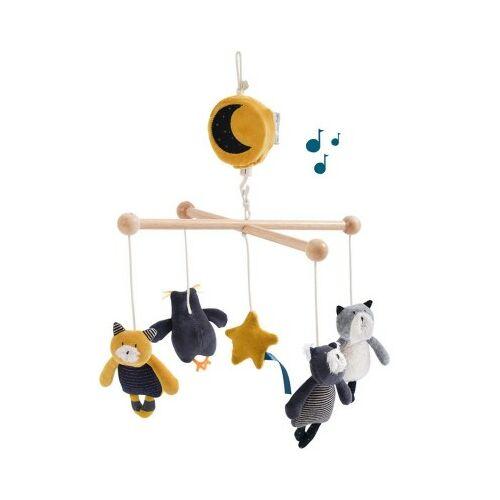 Zenélő körforgó - a három boldog macska