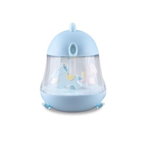 Pipi formájú lámpa pónis körhintával, és zenedobozzal - baba kék