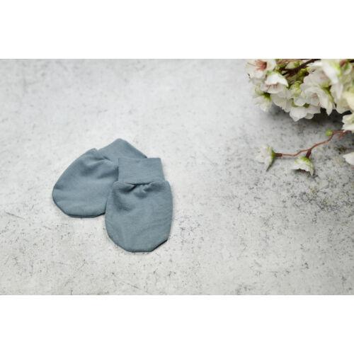 Újszülött baba kesztyű - kék