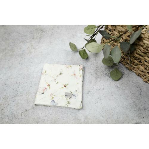 Muszlin takaró (szimpla/2db) - Pillangó